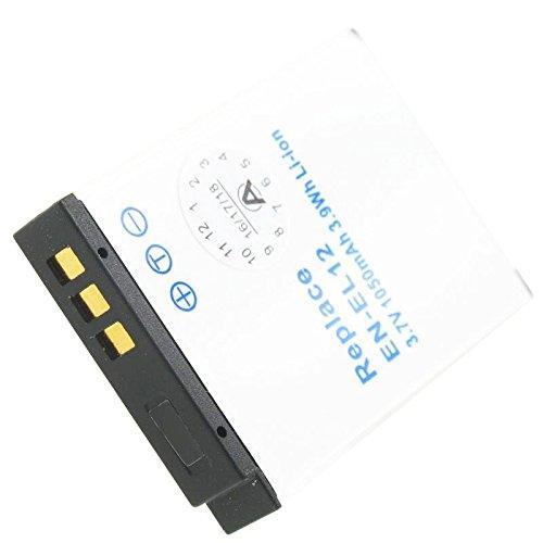 Akku kompatibel mit Nikon Coolpix AW100, AW100s, P300, P310, S1000pj, S1100pj, S1200pj, S6000, S610, S6100, S610C, S6150, S620, S6200, S630, S6300, S640, S70, S710, S8000, S800c, S8100, S8200, S9050, S9100, S9200, S9300 (Nikon S70 Coolpix)