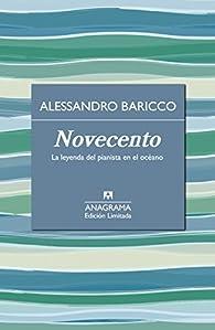 Novecento par Alessandro Baricco