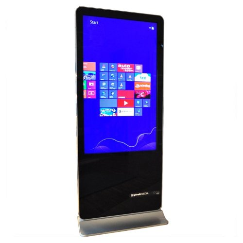 PlentiMedia Stand TouchDisplay Pro 55 Zoll Mega Smart-Phone look Touchscreen Monitor Digital Signage -