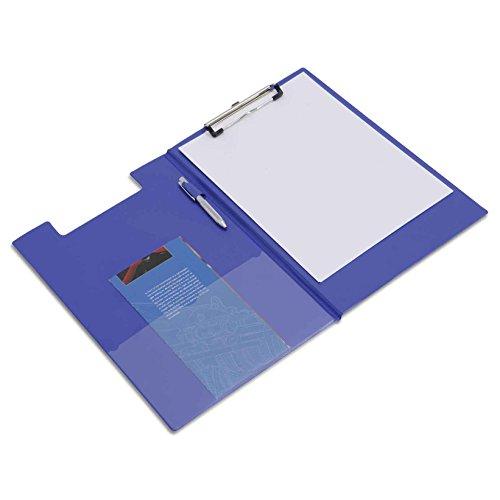 Rapesco VFDCB0L3 Klemmbrettmappe mit Folientasche DIN A4 (1 per Packung) Blau