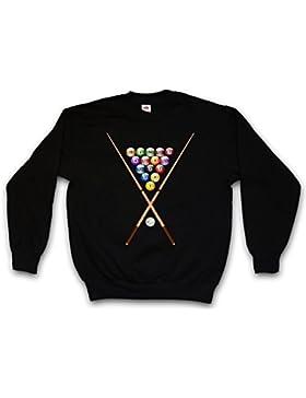 Urban Backwoods POOL BILLARD II SWEATSHIRT – biliardo biglia Eightball 8 Ball Gamble Player Shirt Rockabilly Tattoo...