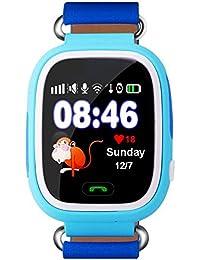 Niños reloj inteligente Bluetooth GPS anti-lost remoto muñeca relojes para ...