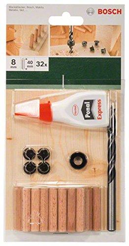 Bosch 32tlg. Dübel-Set (Ø 8 mm)