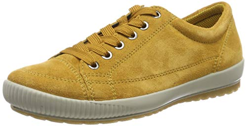Legero TANARO-Sneaker, Damen Niedrig- Anderes Leder, Gelb (Curry (Gelb) 63), 38 EU (5 UK)