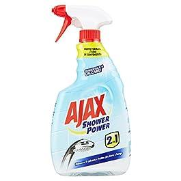 Ajax Shower Power 2 in 1 Detergente Spray, 750 ml