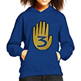 Gravity Falls Hand Witch Kid's Hooded Sweatshirt