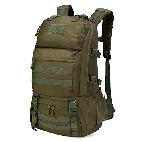Mardingtop 40L Mochila Militar /Táctica Molle / Acampada /Camping /Senderismo/ Deporte/ Backpack de Asalto Patrulla