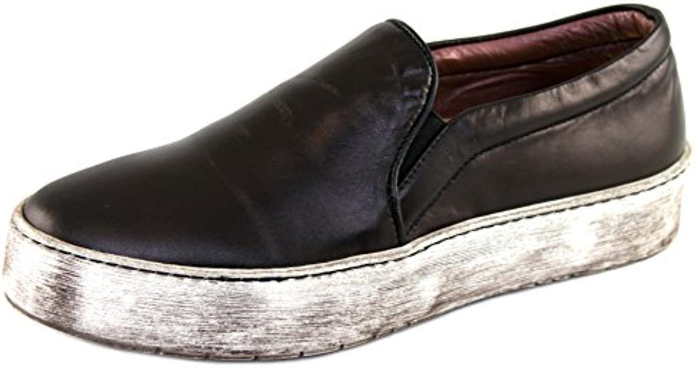 Elisabetta Franchi 576 - Zapatos de Tacón de Cuero Mujer