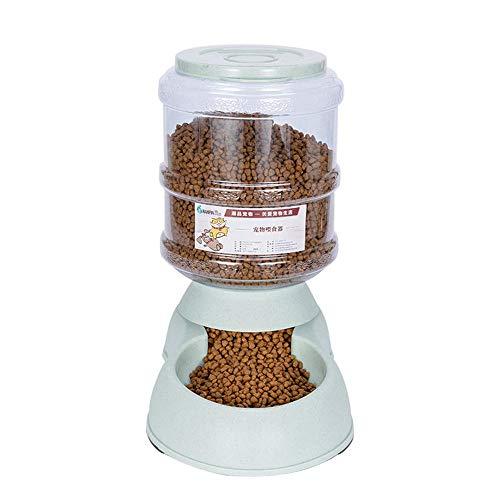 Comederos Automáticos De Alimentos, 3.75L Fuente De Agua Automática para Perros Gatos Y Mascotas, Cuenco Accesorio Dispensador para Mascotas