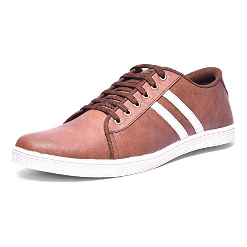 Andrew Scott Men's Brown Sneakers