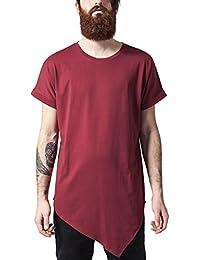 Urban Classics Asymetric Long Tee, T-Shirt Homme