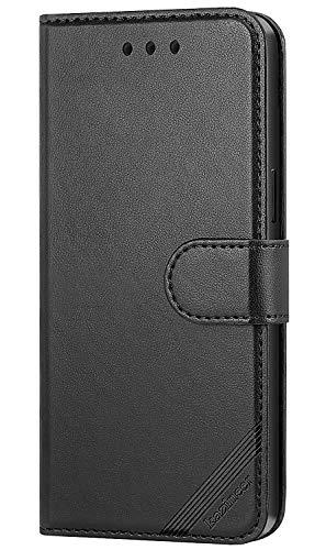 Schwarz Brieftasche Tasche (kazineer Galaxy S7 Hülle, Handyhülle Samsung S7 Leder Tasche Schutzhülle Brieftasche Etui für Samsung Galaxy S7 Case (Schwarz))