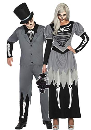Braut Und Bräutigam Paare Kostüm - Fancy Me Paare passendes Kostüm für