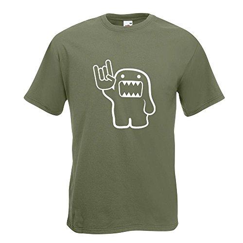 KIWISTAR - Heavy Domo T-Shirt in 15 verschiedenen Farben - Herren Funshirt bedruckt Design Sprüche Spruch Motive Oberteil Baumwolle Print Größe S M L XL XXL Olive