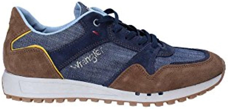 Wrangler WM181090 Zapatos Hombre Azul 41  -