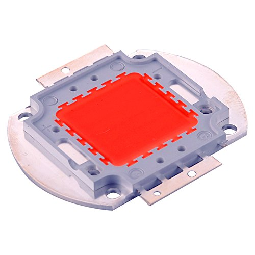 MXL DIY Led, 10Watts 30Watts 50Watts 100Watts Full Spectrum LED wachsen Chip 380nm-840nm für Hydroponics LED-Lampen (Größe : 100W)