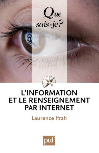 L'information et le renseignement pa...