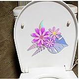 Wandtattoos 3 Stücke Papier Schnittblume Wandaufkleber Wandhauptraum Toilette Dekor Raumdekor 22X20 Cm