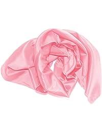 Satin-Stola / Schultertuch, zum Abendkleid oder Brautkleid, ca 140 x 50 cm, eine Seite glänzend / Rückseite etwas matter