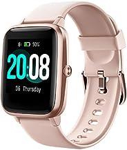 LIFEBEE Smartwatch, Reloj Inteligente Impermeable IP68 para Hombre Mujer niños, Pulsera de Actividad Inteligen