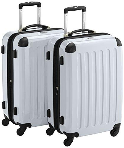HAUPTSTADTKOFFER Sets de bagages, 65 cm, 148 L, Blanc
