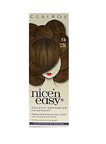 Clairol Nice 'n Easy Non-Permanent Hair Colour - 73 Medium Ash Blonde
