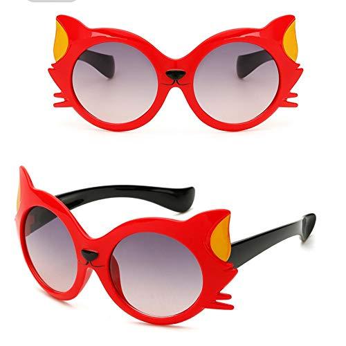 ROirEMJ Cartoon Sonnenbrille Kinder Reisen Outdoor Silica Gel Sonnenbrille Candy Farbe Brillen D