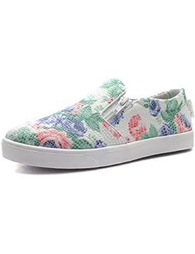 LAWN Step2wo Zapatos para Niñas Floreado