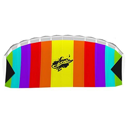 HQ Kites Comet Rainbow Stunt Foil Kite