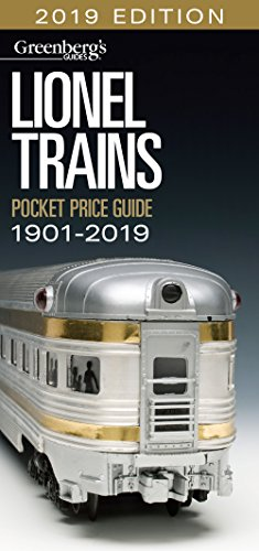 Lionel Pocket Price Guide 1901-2019: Greenberg's Guide (Greenberg's Guides) (Modell Train Lionel)