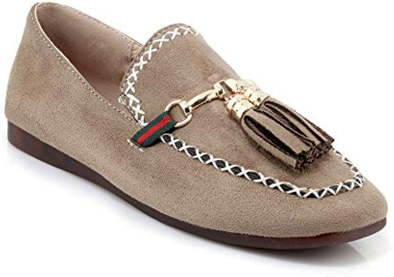 Gentiluomo Signora Wouomo Casual Square Head Flat scarpe Nuovo prodotto Negozio di esportazione online Negozio famoso | Impeccabile  | Scolaro/Ragazze Scarpa