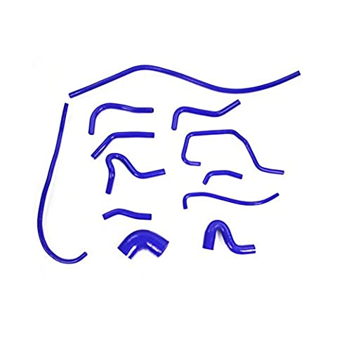 ALLOYWORKS Silicone Radiator Hose Kit Blue