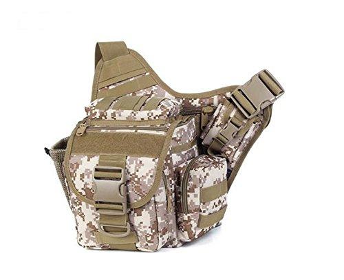 Zll/2015neue Kameratasche army Fan Tactical Sattel Tasche Geldbörse Freizeit Outdoor Single Schulter der Staubbeutel Beige