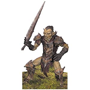 El Señor de los anillos: la Comunidad del anillo–Moria Orc figura de acción 3