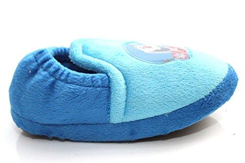 Disney Olaf Jungen Kinder Blau Weihnachten Geschenk Geschenke für Jungen Hausschuhe Blau