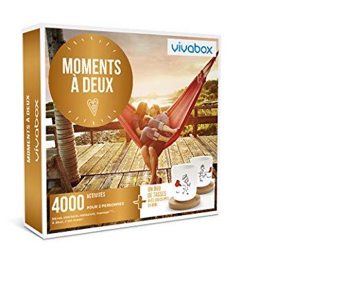 Vivabox- Coffret cadeau couple - MOMENTS À DEUX - 4000 activités: diners, soins. +...