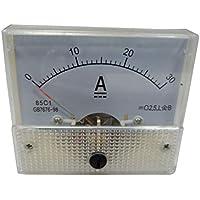 Vosarea DC 30A DC voltímetro Pointer Head Medidor de Panel analógico