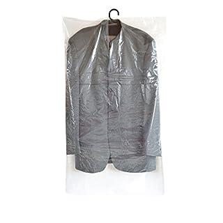 ASIS nettrade Einfache praktische Kleiderschutzhüllen - Kleiderschutzfolien - 40 Stück - 60 x 100cm - 20my - preisgünstig