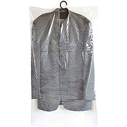 Super praktische Kleiderschutzhüllen - 60 Stück (3 Sets) - Maße: 150 cm lang - Extra lang - x 60 cm breit - 20my stark - transparent - super preisgünstig