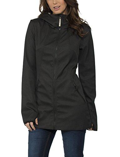 Bench Damen Jacke DENNEY F, Gr. 40 (Herstellergröße: L), Schwarz (Jet Black Marl BK014X)