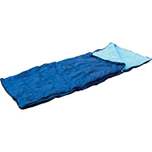 41195QmNU6L. SS300  - Kingfisher OLSB Adult Single Camping Sleeping Bag - Blue, NA