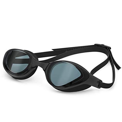YYJDM Schwimmbrille Männer Frauen Schwimmbrille Anti Fog UV-Schutz Einstellbar Erwachsene Schwimmbrille Professionelle Galvanisieren Auslaufsichere Schwimmbrille