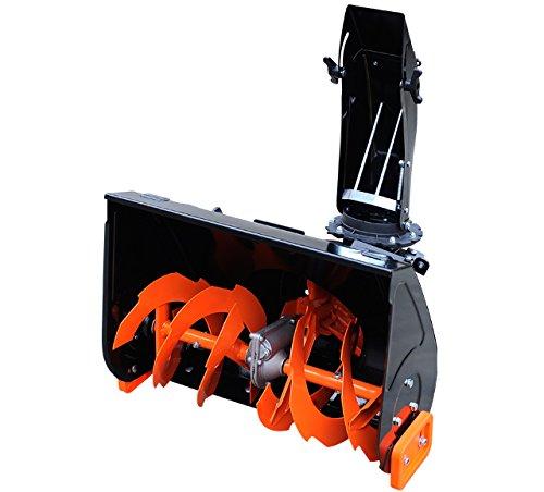 FUXTEC Schneefräsenaufsatz KMF163 für Benzin Kehrmaschine Räumgerät Kehrbürste KM163