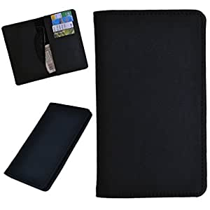 DCR Pu Leather case cover for Micromax Mad A94 (black)