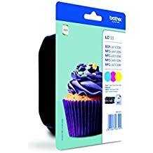 Brother Ink Cartridge for Lc123 - Cyan/Magenta/Yellow