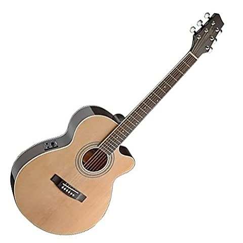 Stagg SA40MJCFI-N Electro Acoustic Guitar -