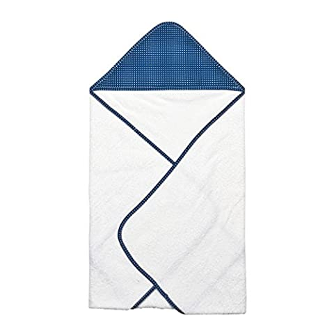 Trend Lab Perfectly Dot Hooded Towel Bouquet, Navy