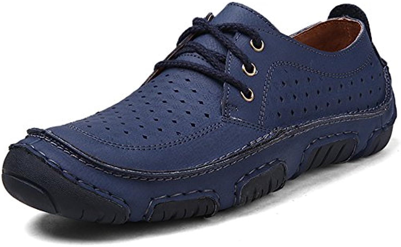 GNEDIAE Zapatos para Hombres Zapatos Transpirables Zapatos para Hombres Zapatos Planos para Hombres Zapatos Ligeros  -