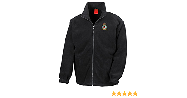 100 RAF Squadron Embroidered Logo No Official RAF Royal Air Force Full Zip Fleece by Military Online