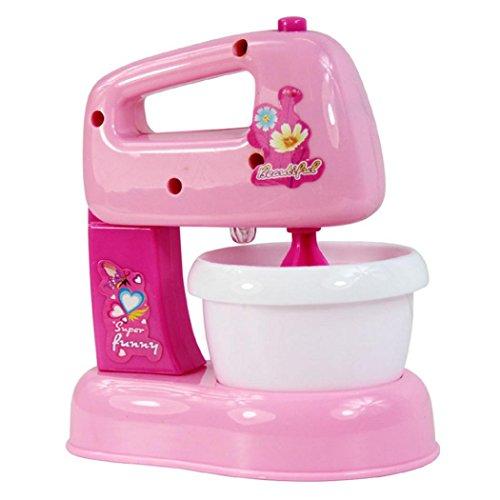 Bescita Baby Entwicklungs Pädagogisches Mixer Pretend Spiel Haushaltsgeräte Küche Simulation Spielzeug Kind Geschenk (E) (Kinder-spielzeug-mixer)